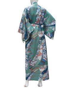 japanischer Damen Kimono Ribbon (Schleifenband) grün