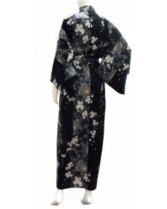 Damen Kimono Sakura schwarz