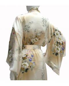 Damen Seiden Kimono Ume (Pflaumenblüte)