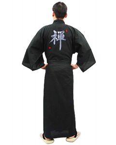 Herren Kimono ZEN  schwarz