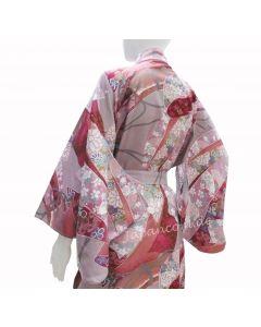 Japanischer Damen Kimono Ribbon pink