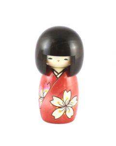 Kokeshi Puppe Hanaha Sakura 13cm