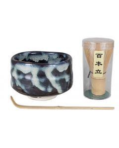 Matcha-Set Tenmoku Konshiro