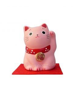 Japanische Glückskatze pink