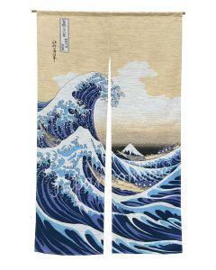 Noren Nami Hokusai
