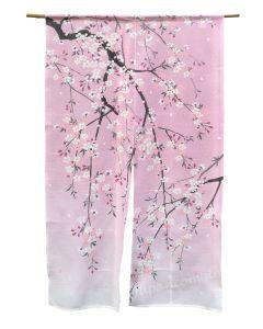 Noren Kirschblüten rosa
