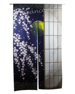 Noren Sakura Shoji blau 85 x 150 cm