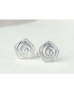925 Silber Ohrringe Rosen
