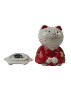 Räuchergefäss Katze für Räucherkegel