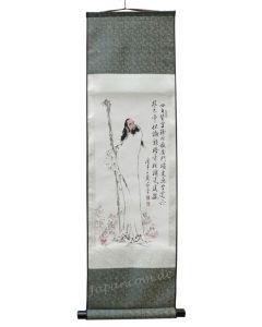 Rollbild Daruma 30 x 100 cm