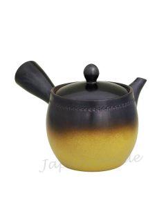 Seitengriff Teekanne Tsubogata braun-beige 300ml