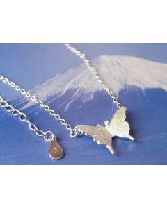 925 Silberkette Schmetterling