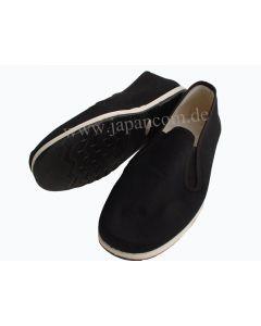 Taichi Schuhe mit biegsamer Gummisohle schwarz