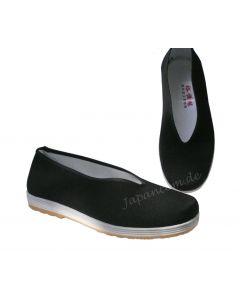 Tai Chi Schuhe Tradition mit flexibler Sohle schwarz