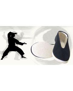 Tai Chi Schuhe Tradition schwarz