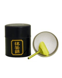 Teedose für Matcha Cha Sho schwarz