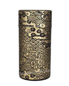 Teedose Hana schwarz-gold 175 g