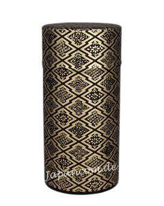 Teedose Hishigata schwarz-gold 175 g