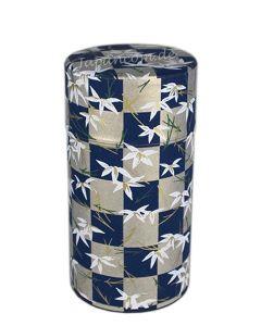 Teedose Ichimatsu blau