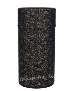 Teedose Leinenblüte schwarz 175 g