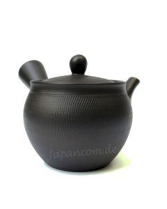 Teekanne Akira Kumo braunschwarz