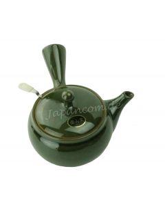 Seitengriff Teekanne mit Griffsieb Midori grün 300 ml