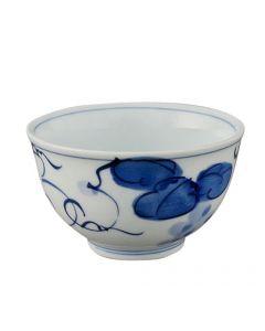 Teeschale Some Budo blau-weiss