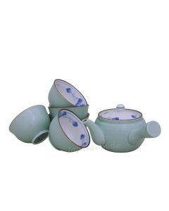 Teeschale Budo aquamarin