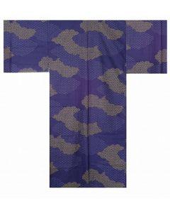 Herren Yukata Kimono Kumo dunkelblau