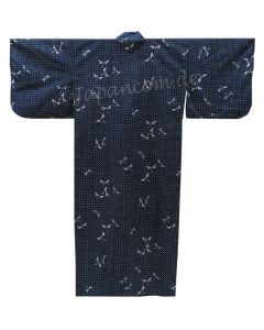 Yukata Kimono Tombo dunkelblau