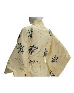Damen Yukata Kimono Tanz beige
