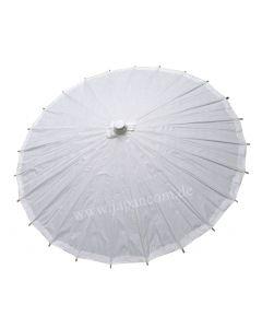 Japan Schirm Zen, weiss